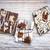 csokoládé · karamell · ugatás · darabok · három · édes - stock fotó © elenaphoto