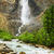 takakkaw falls waterfall in yoho national park canada stock photo © elenaphoto