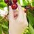 hand picking cherries stock photo © elenaphoto