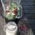 blender with smoothie ingredients stock photo © elenaphoto