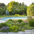 jardim · piscina · quintal · rocha · ao · ar · livre · residencial - foto stock © elenaphoto