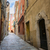 medieval street in villefranche sur mer stock photo © elenaphoto