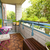 decoração · verão · varanda · vintage · esmalte · chá - foto stock © elenaphoto