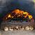 yanan · taş · çakıl · Alevler · karanlık - stok fotoğraf © elenaphoto