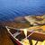 canoa · shore · rosso · lago · due · fiumi - foto d'archivio © elenaphoto