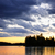 劇的な · 日没 · 湖 · 2 · 河川 · 公園 - ストックフォト © elenaphoto