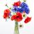 vaso · velho · mesa · de · madeira · flor · folha · verão - foto stock © elenaphoto