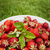 frissen · eprek · zöld · eper · organikus · tart - stock fotó © elenaphoto