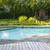 quintal · piscina · moderno · australiano · mansão · céu - foto stock © elenaphoto
