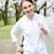 girl jogging in park stock photo © elenaphoto