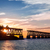 oude · rail · brug · park · Florida · sleutels - stockfoto © elenaphoto