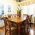Esszimmer · Innenraum · antiken · Holztisch · Stühle · Haus - stock foto © elenaphoto