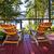 dois · cadeiras · varanda · quadro · janela · flor - foto stock © elenaphoto