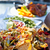 nachos · queso · salsa · alimentos - foto stock © elenaphoto