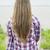 длинные · волосы · вид · сзади · долго · волос - Сток-фото © elenaphoto