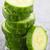dilimleri · yeşil · salatalık · beyaz · grup · kesmek - stok fotoğraf © elenaphoto