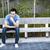 アジア · 若い男 · 思考 · 緑 · ビジネス · 手 - ストックフォト © elenaphoto