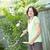 kertészkedés · nő · növények · tavasz · terasz · természet - stock fotó © elenaphoto