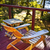 chair on cottage deck stock photo © elenaphoto