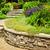Garten · Stein · Auffahrt · natürlichen · Landschaftsbau · Haus - stock foto © elenaphoto