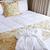 hotel · ágy · fürdőköpeny · kényelmes · tiszta · előkelő - stock fotó © elenaphoto