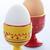 zachte · gekookt · eieren · twee · witte - stockfoto © elenaphoto
