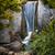 waterfall in japanese garden stock photo © elenaphoto