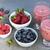 due · occhiali · fresche · Berry · ristorante · tavola - foto d'archivio © elenaphoto