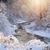folyó · folyik · tél · csodaország · fut · erdő - stock fotó © elenaphoto