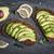 完全菜食主義者の · サンドイッチ · 肉 · 鶏 · トルコ · 豆腐 - ストックフォト © elenaphoto