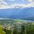 view of revelstoke in british columbia canada stock photo © elenaphoto
