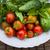 frissen · gyógynövények · öreg · antik · olló · fa - stock fotó © elenaphoto