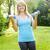 woman exercising with dumbbells stock photo © elenaphoto