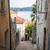 狭い · 通り · 古い · 村 · 道路 · 建物 - ストックフォト © elenaphoto