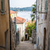 old street in villefranche sur mer stock photo © elenaphoto