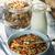 ヨーグルト · グラノーラ · 新鮮な · 桃 · 健康 - ストックフォト © elenaphoto