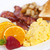egészséges · reggeli · adag · tányér · közelkép · fitnessz - stock fotó © elenaphoto