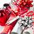 christmas wrapping paper rolls stock photo © elenaphoto