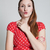Attractive woman blowing kiss stock photo © ElinaManninen