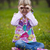 bambina · guardando · giro · turistico · binocolo · cielo · bambino - foto d'archivio © elinamanninen