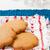 pan · di · zenzero · biscotti · piatto · riposo · blu · decorativo - foto d'archivio © ElinaManninen