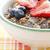bowl of muesli and berries stock photo © elinamanninen