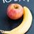 appel · banaan · woord · vandaag · geschreven · krijt - stockfoto © ElinaManninen