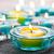 candele · sabbia · home · vetro · spa · fiamma - foto d'archivio © elinamanninen