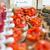 bruschetta · aperitivos · etiqueta · tomates - foto stock © ElinaManninen
