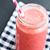 gyümölcs · smoothie · közelkép · eper · üveg · szalmaszál - stock fotó © ElinaManninen