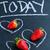 vers · geheel · aardbeien · drie · binnenkant · krijt - stockfoto © ElinaManninen