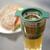 üveg · zöld · tea · közelkép · asztal · rozs · kenyér - stock fotó © ElinaManninen