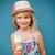 giovane · ragazza · cono · gelato · cute · sorridere · fuori - foto d'archivio © ElinaManninen