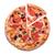 pizza · kaas · tomaten · geïsoleerd · witte · voedsel - stockfoto © elisanth
